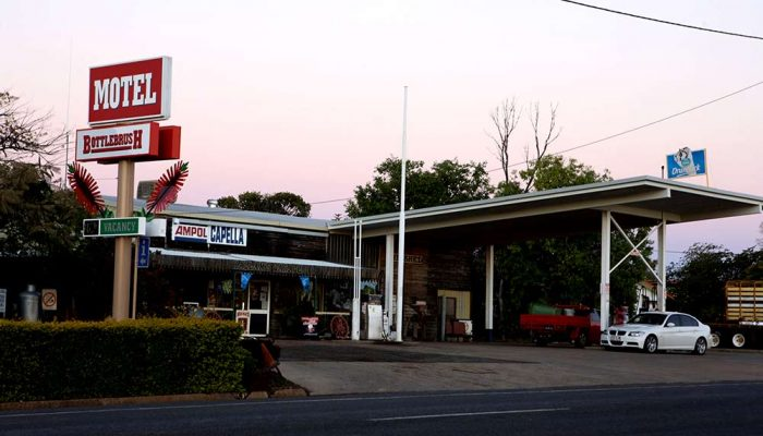 Service Station and Motel in Capella